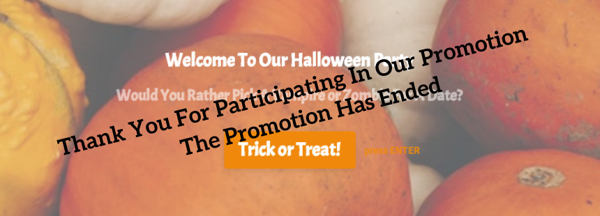 welcome-to-our-Halloween-party-promotion-expired